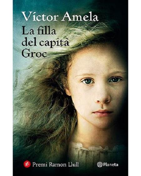 """Portada de la novel·la """"La filla del capità Groc"""""""