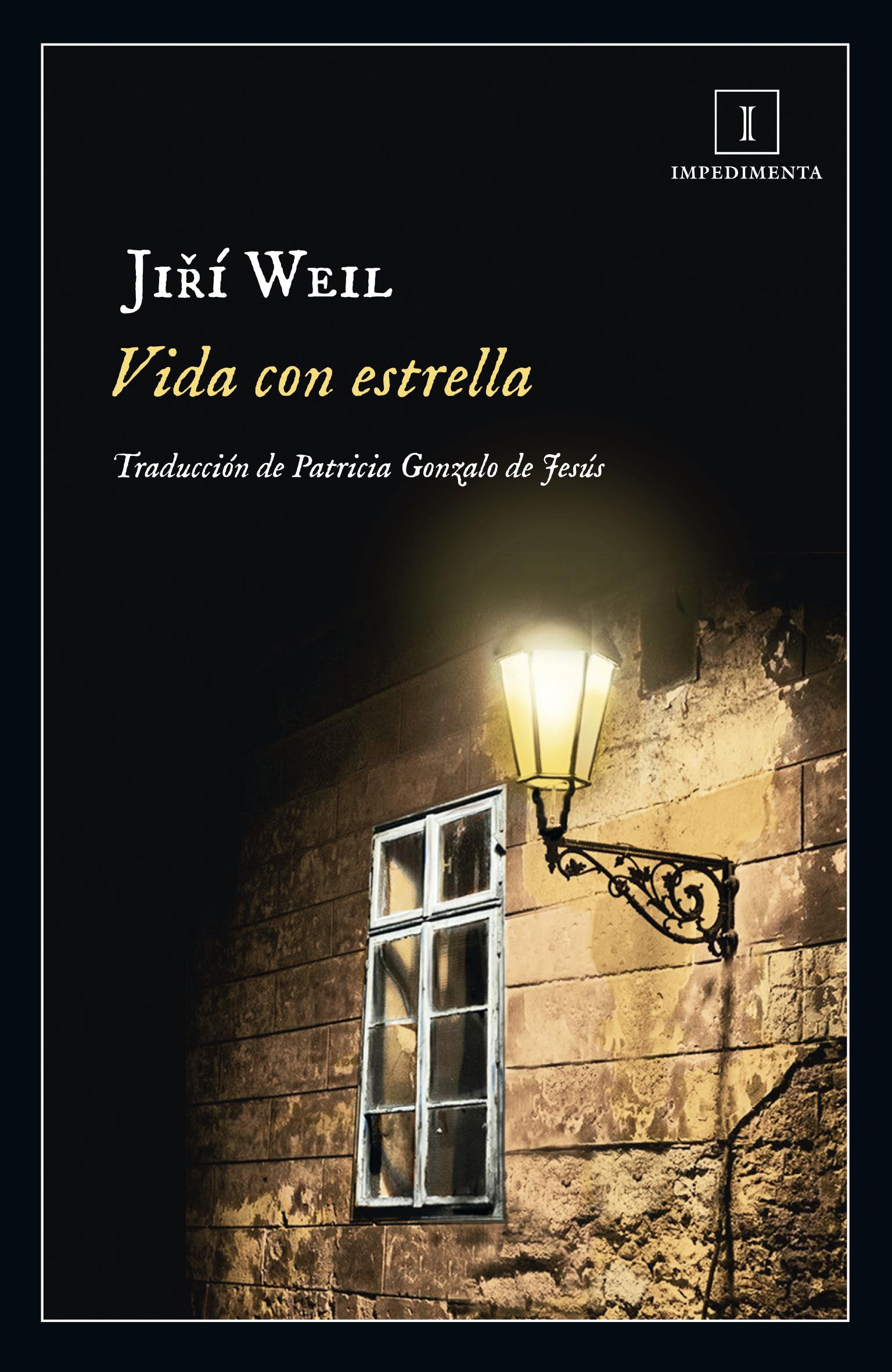 Portada de la novela «Vida con estrella», de Jirí Weil