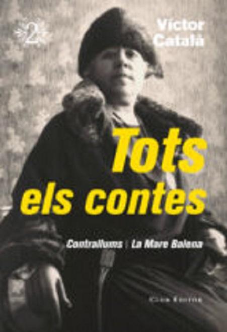 """Portada de """"Tots els contes"""", de Víctor Català, Vol. 2"""