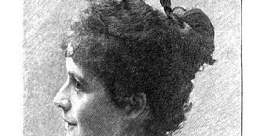 La poeta alemana Anna Ritter