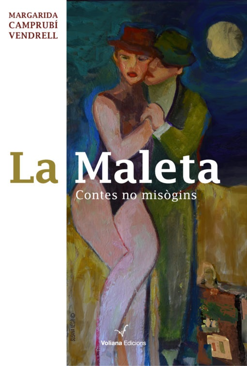 """Portada del recull de contes """"La maleta"""", de Margarida Camprubí"""
