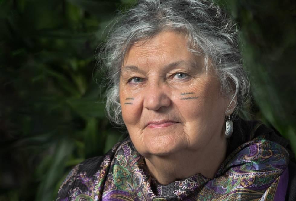 L'escriptora Maria Campbell