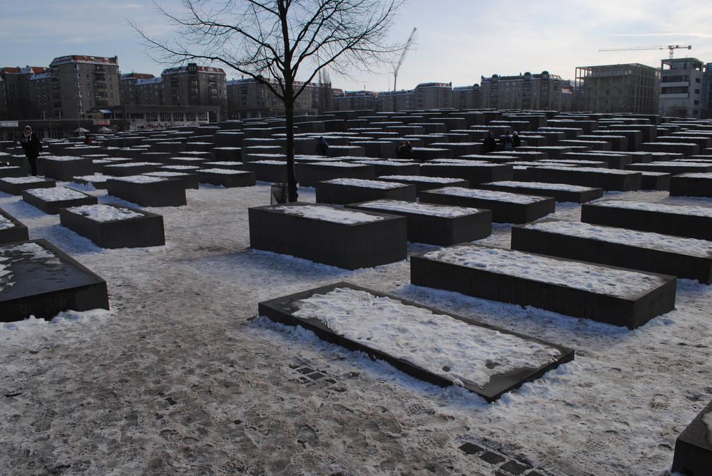 Berlín, monumento al Holocausto, Cora-Berliner Str. 1 (Puerta de Brandemburgo)