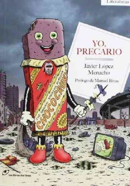 Portada del libro «Yo precario», de Javier López Menacho