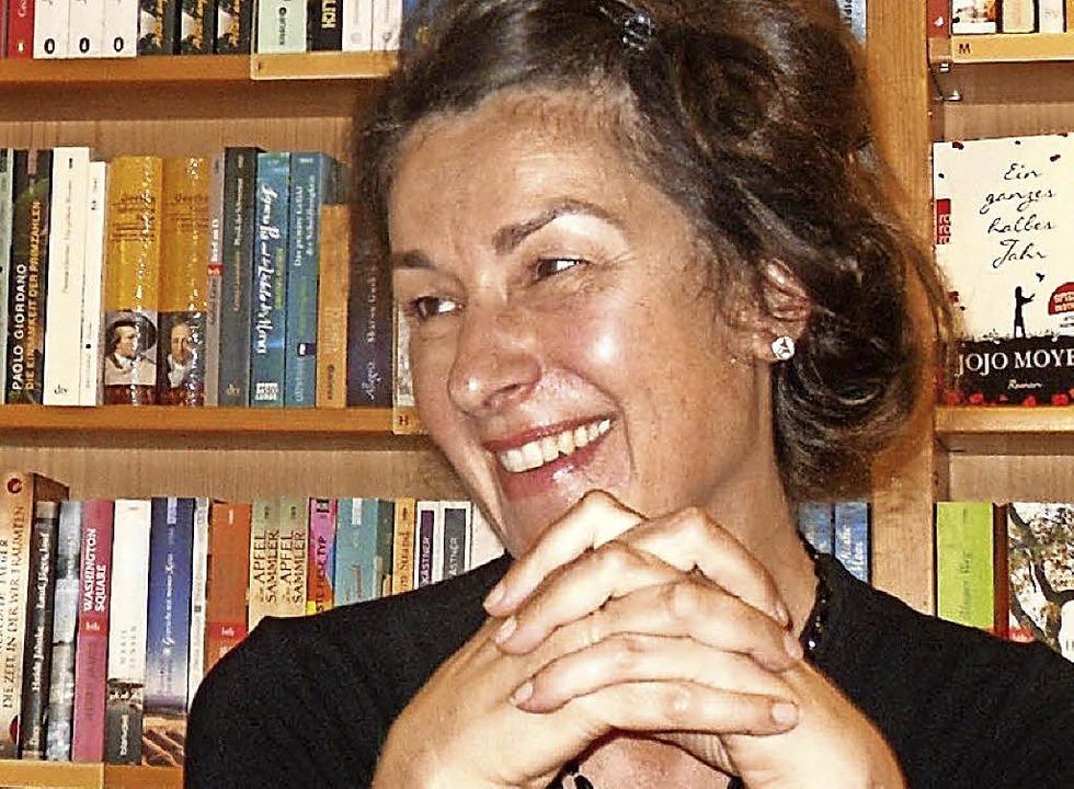 La escritora alemana Zsuzsa Bánk