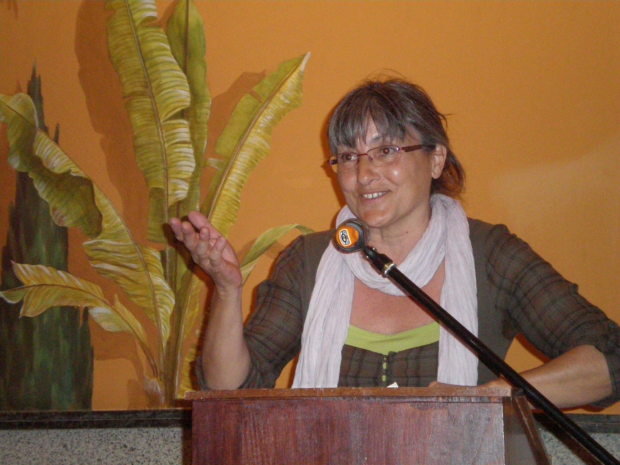 Anna Rossell, IV Encuentro de Poesía en Red (Granada, 2011)