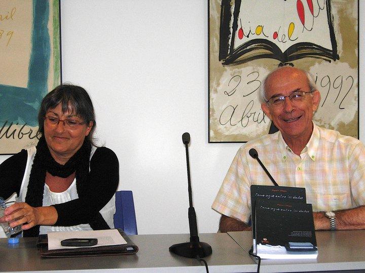 Anna Rossell con Miguel F. Villegas, Tertulia El Laberinto de Ariadna (Ateneo Barcelonés, 2010)