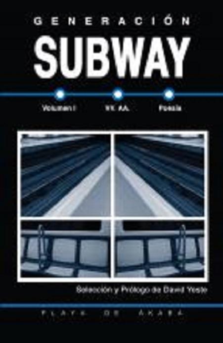 """Portada del libro """"Generación Subway"""""""