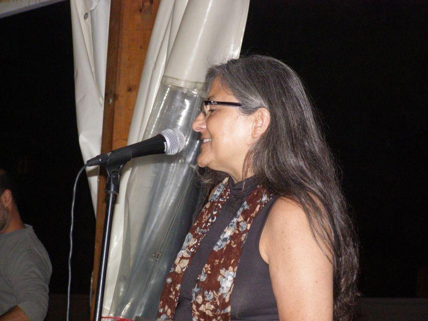 Anna Rossell. Poesía en la Playa, El Masnou, verano 2014