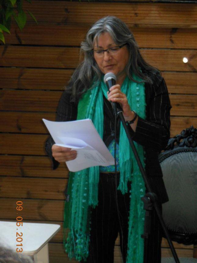 Anna Rossell. Semana de la Poesía, Barcelona, 2013