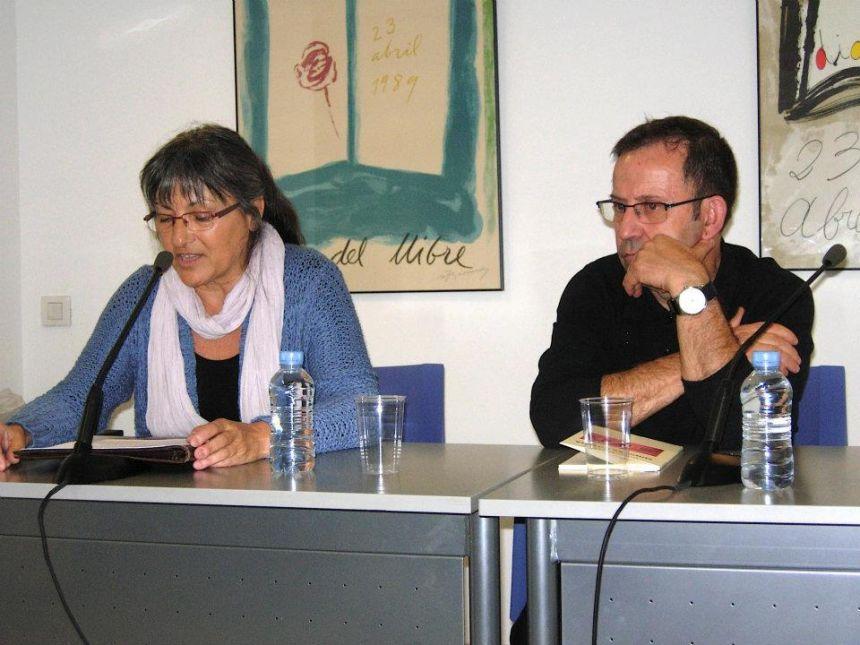 Anna Rossell con Marcelo Díaz, Tertulia El Laberinto de Ariadna (Ateneo Barcelonés, 2011)