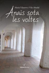 Portada de la novela de Maria Vilanova, Anaïs sota les voltes