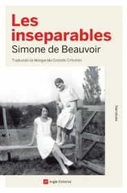 Portada de la novel·la pòstuma de Simone de Beauvoir, «Les inseparables»