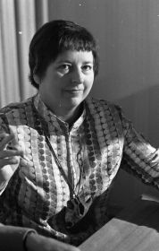 La escritora y poeta alemana Margarete Hannsmann