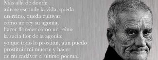 El poeta Leopoldo María Panero