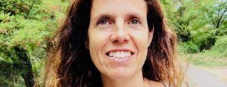 L'escriptora Sandra Freijomil